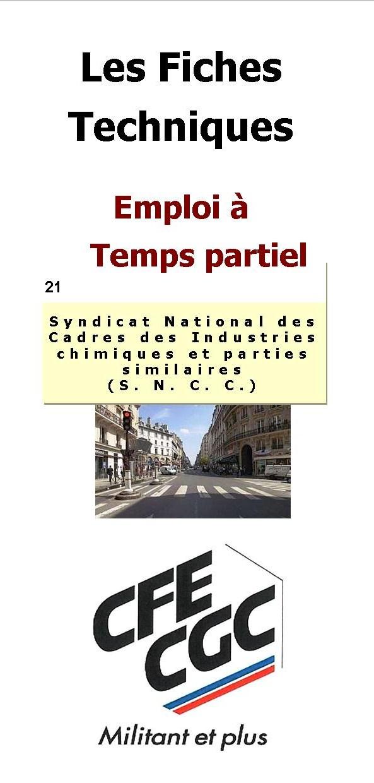 s n c c emploi documentation disponible sncc syndicat national des cadres des industries